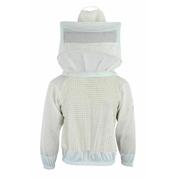 Beekeeping jacket with veil